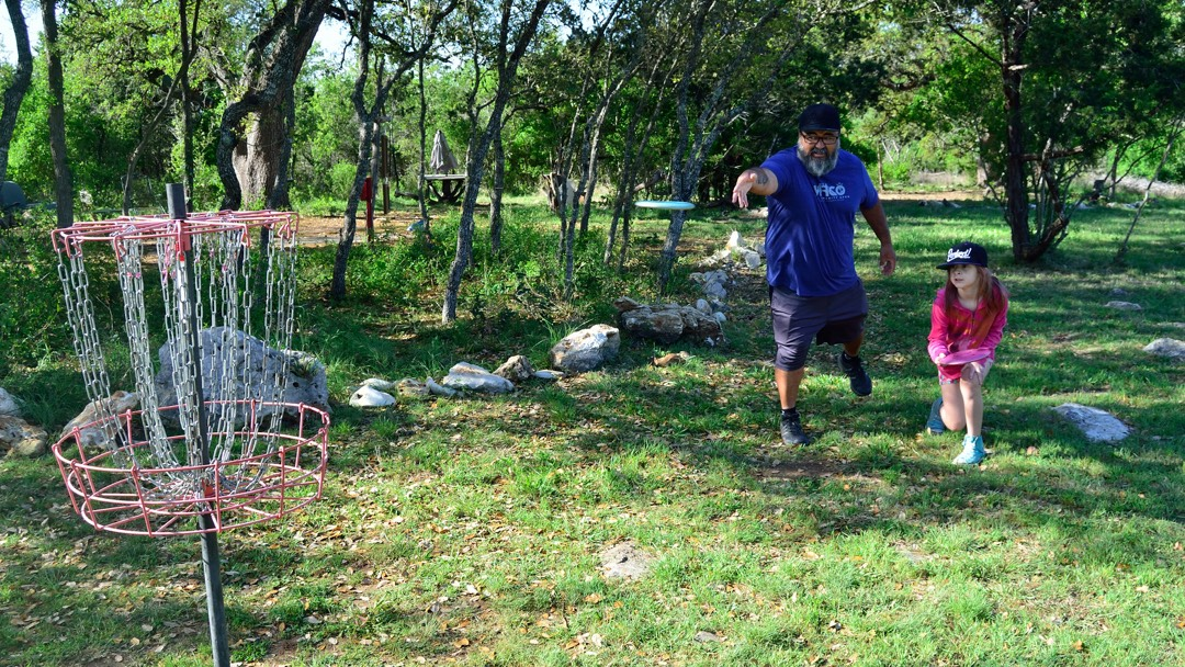 Family Learning Disc Golf